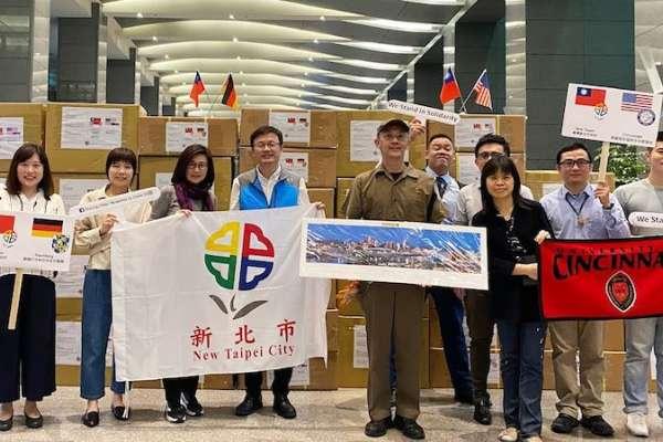 美國眾議員代家鄉來信 侯友宜:請議員為臺灣發聲、為新北爭取更多支持