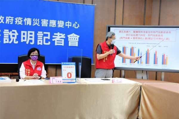 20日起第三輪預約 王惠美提醒收到簡訊預約接種