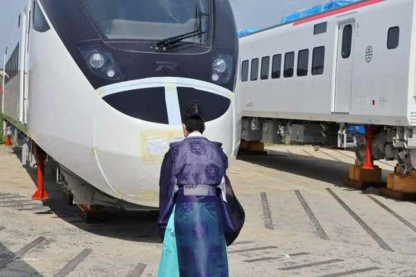 台日合作再一樁!台鐵新城際列車月底抵台 日本千年神社祭司祈願