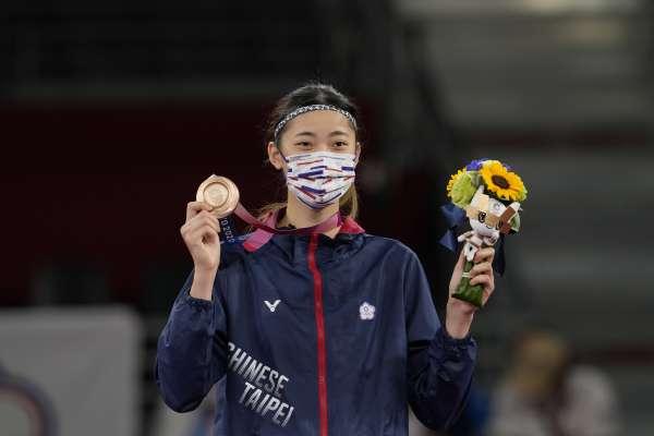 東京奧運》羅嘉翎為中華隊再添一銅 蔡英文:今晚「+0」振奮全台灣