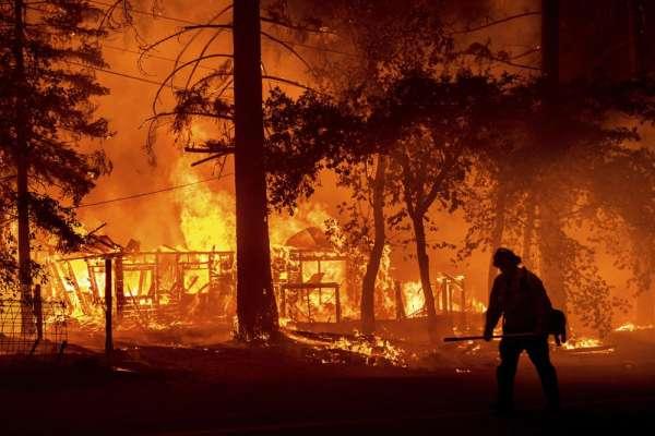燒掉超過20個台北市!美國西部野火漫天肆虐 加州與奧勒岡州災情嚴重