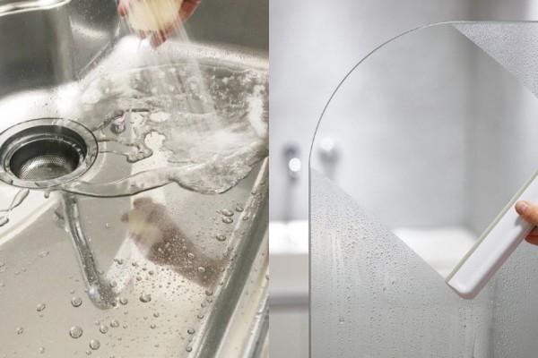 浴室、廚房的陳年水垢怎麼清潔?專家傳授2個除漬方法,不用狂刷就能輕鬆去汙