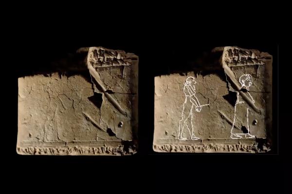 古巴比倫驅魔指南!大英博物館意外發現最古老幽魂畫 3500年前泥板描繪情人送男鬼到冥界