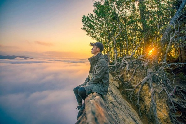 2021新竹登山步道推薦》站在絕美峭壁上俯瞰壯闊雲海!內行人激推的北得拉曼山5大絕美景點一次全公開