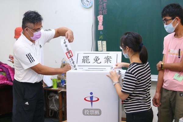 中選會宣布陳柏惟罷免案通過 7天內公告解除職務