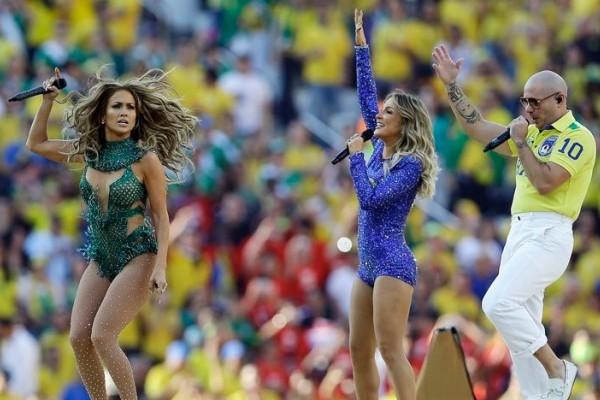 《2014世界盃》聖保羅開幕式繽紛登場