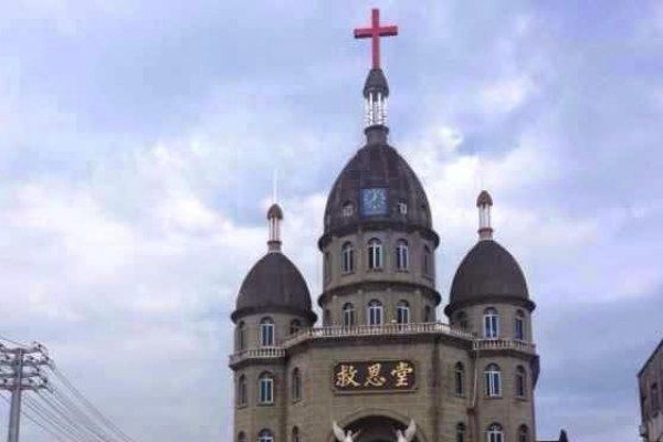 浙江強拆教堂十字架 教徒激烈抗爭