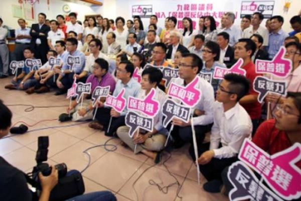 陳競新專欄:佔中,是兵行險著,為免香港下沉