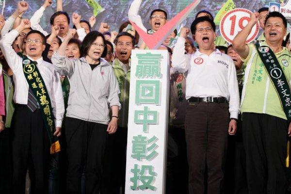 林佳龍與魏明谷辭立委 中彰投執政聲明