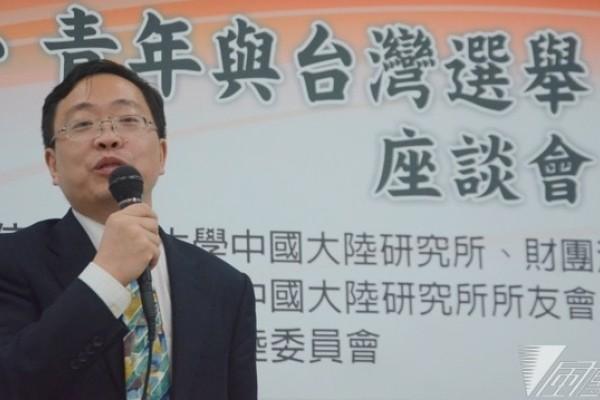 中國學者:年輕人討厭連勝文 回鄉支持民進黨