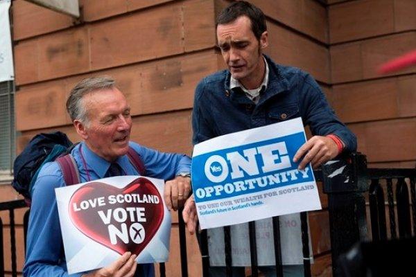 蘇格蘭寫歷史 獨立公投登場