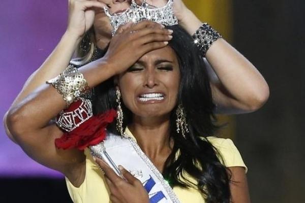 印度裔當選美國小姐 引發種族歧視