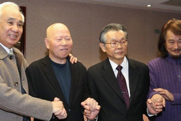 張俊宏確定入監  許信良、施明德握手打氣