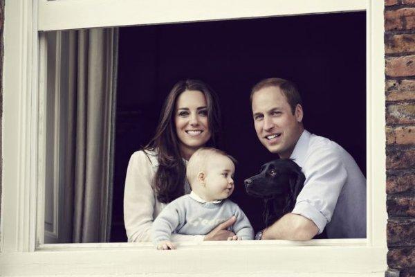 英國小王子喬治 最新玉照問世