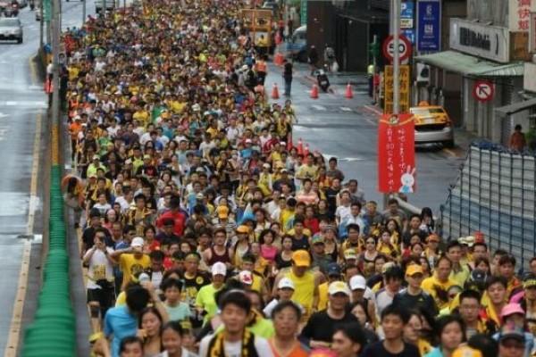 七千人反核路跑 宣示非核家園