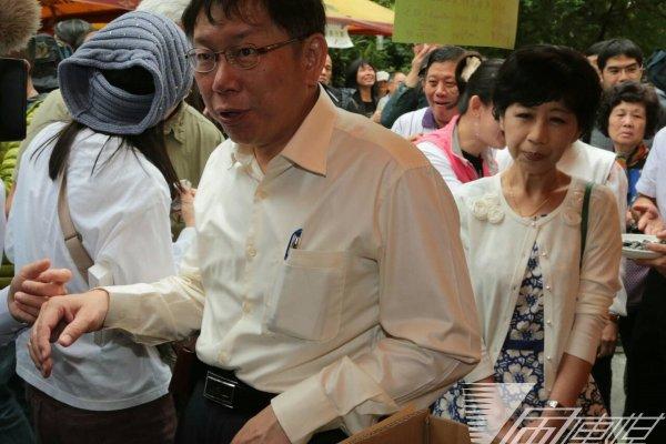 怒拔內湖分局長逆轉 柯文哲:掃到颱風尾 非常抱歉