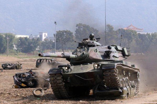 共軍繞台恐嚇 國軍春節加強戰備模擬痛擊敵軍