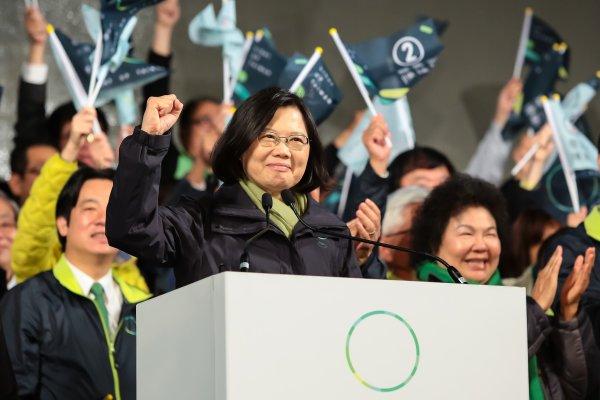 蔡英文強勢回歸 全台灣都綠了 國民黨還剩什麼?