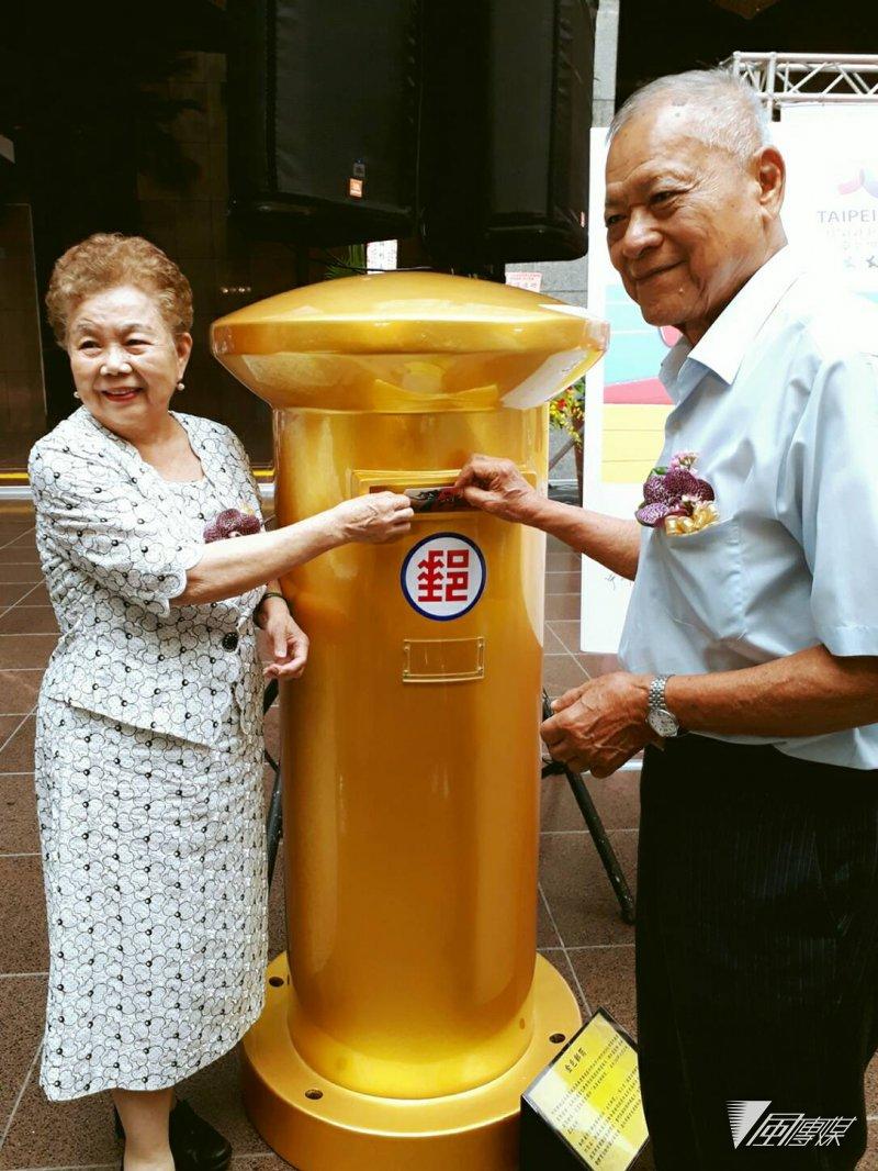 賽會期間,中華郵政更特別進駐選手村,提供選手便利的郵件服務。(圖/台北市政府提供)