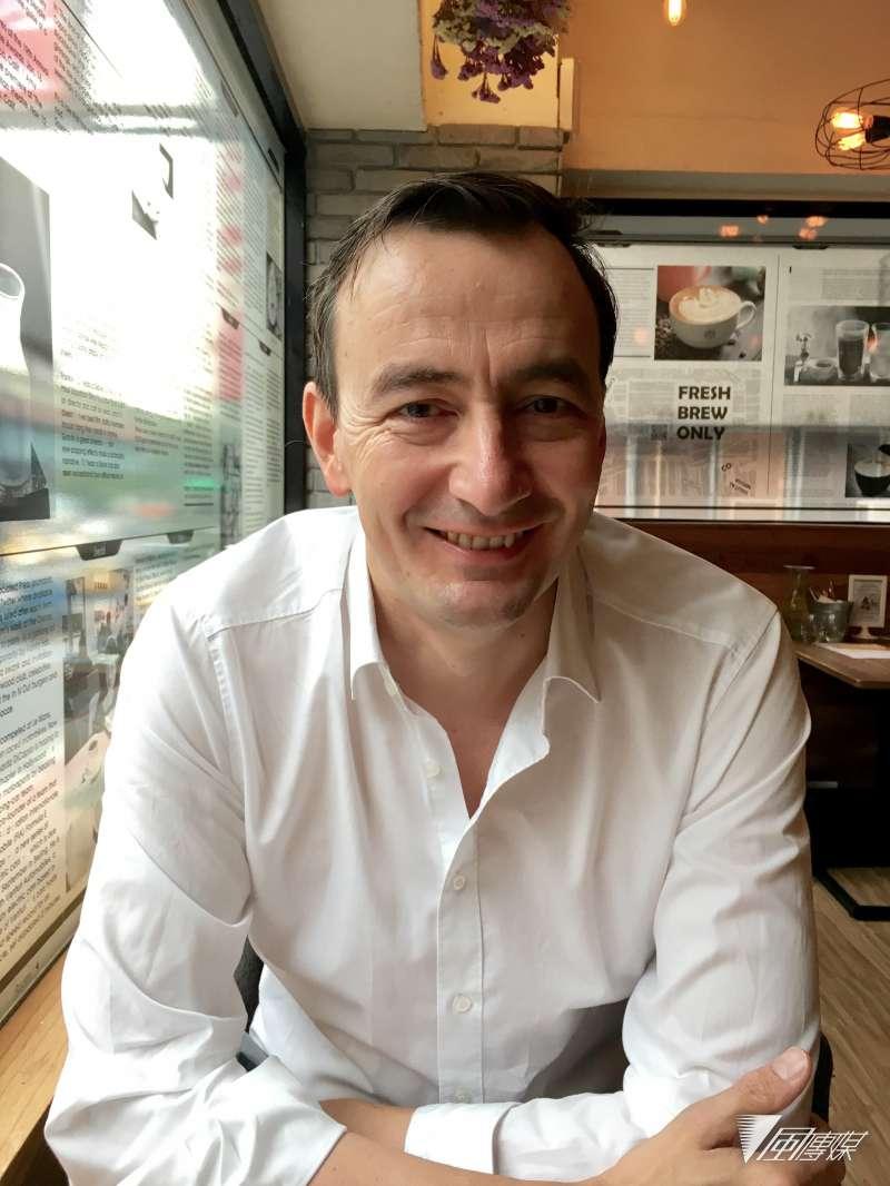英國智庫學者、BBC記者比爾海頓。(魏嘉瑀攝)