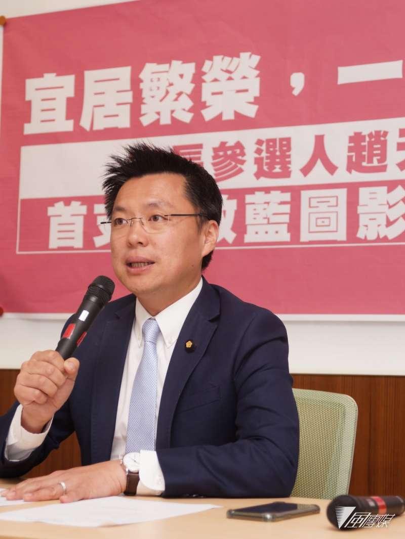 20180226-立委趙天麟召開市政藍圖影片公布記者會(盧逸峰攝)