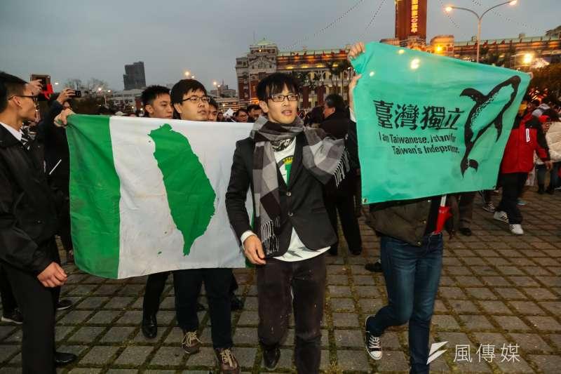 NHK報導指出,台灣年輕人早已找到自我主權認同,是一種「天然獨」。(資料照,顏麟宇攝)