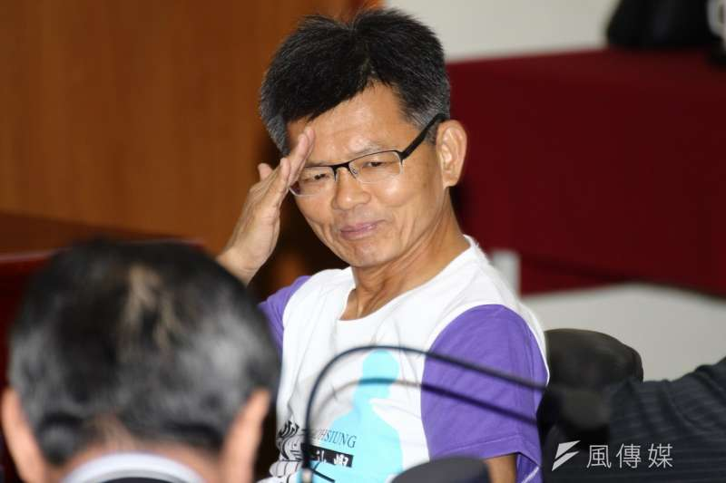 前政務委員楊秋興去年參選高雄市長敗選,未來將轉任台鹽董座。(資料照片,葉信菉攝)