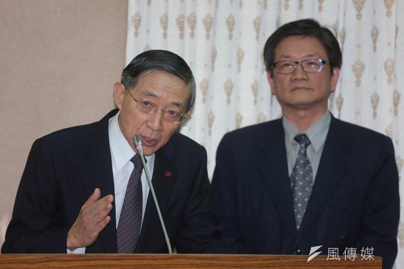 外交部長林永樂2日到立院報告政府參加亞投行等相關決策。(余志偉攝)