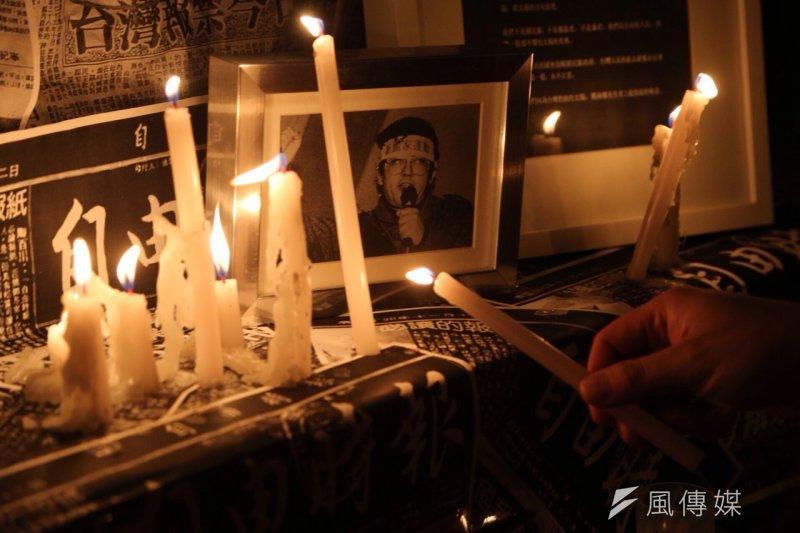 台中市政府為紀念鄭南榕,訂定4月7日為言論自由日,當日上午10時將在台中文學館舉辦「言論自由日紀念會」。(楊子磊攝)