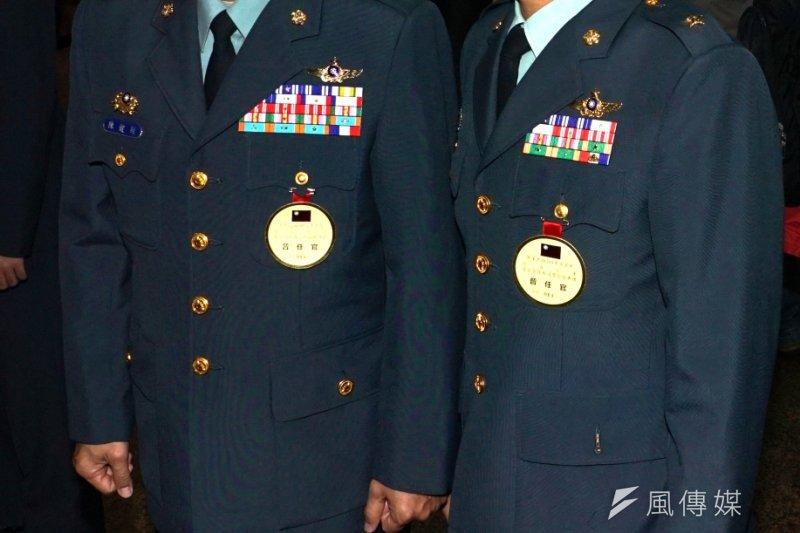 航特部指揮官陳健財(左)、601旅旅長簡聰淵(右)兩人都遭調職。(資料照,蘇仲泓攝)
