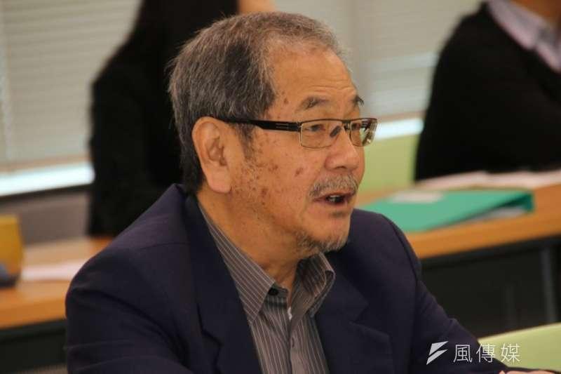 吳乃仁家族不再接受台苯董事長職務邀請,表明不玩了!(民進黨聯誼會提供)