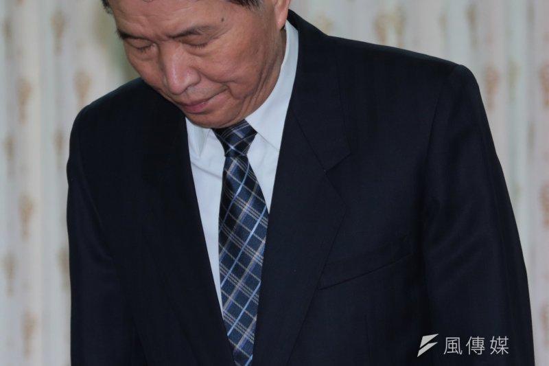 國防部長高廣圻投書媒體,表示調整募兵期程造成外界誤認募兵制跳票,為此致歉。(資料照,余志偉攝)