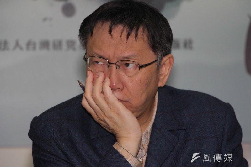 對於兩岸互動,台北市長柯文哲表達在既有政治基礎上互動的態度,但民進黨則定調13執政縣市的城市交流以實質交流為主。(資料照,葉信菉攝)