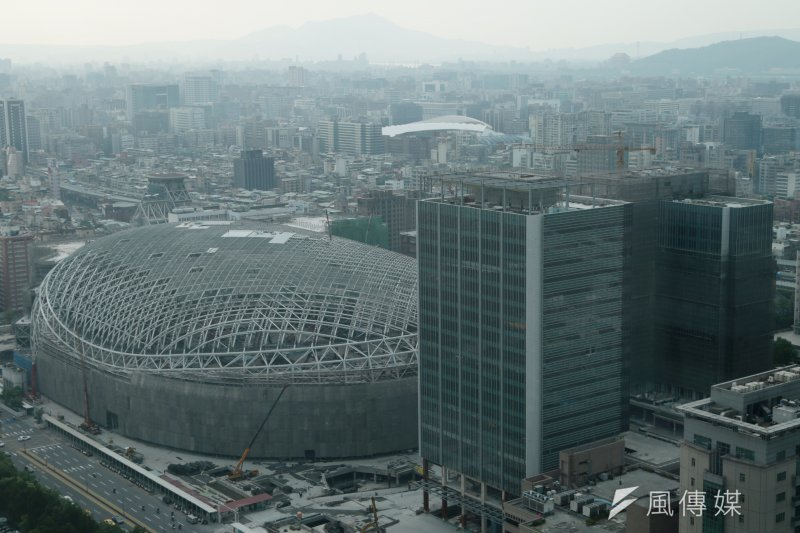 台北市體育局表示,世大運開閉幕典禮若因安全因素無法在大巨蛋舉行,會和國際大學運動總會(FISU)協商,但不會違約。(余志偉攝)
