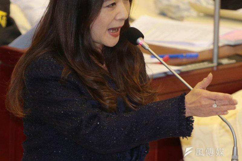 台北市議員應曉薇12日發聲明稿為己發聲,確實輔導過鄭捷,絕非造謠。(資料照,余志偉攝)