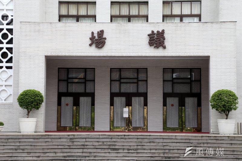 傳出在國民黨團提出的一系列國會改革修正草案中,將增設「國會警察隊」。(圗為立法院議場,吳逸驊攝)