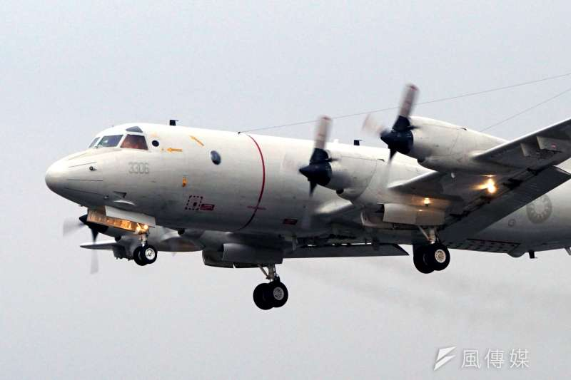 DSC09818-104年國軍春節加強戰備操演,空軍P-3C反潛機-