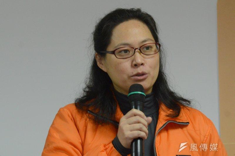 勞動局長賴香伶18日表示,適用《勞基法》勞工在天災停班後的「補班補課」,並無勞動法源依據。(資料照,宋小海攝)