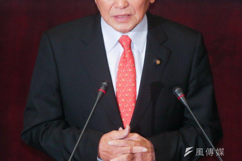 苗栗縣長徐耀昌曾公開表示,7月份薪資調度仍然有問題,目前仍短缺9億。(資料照,余志偉攝)