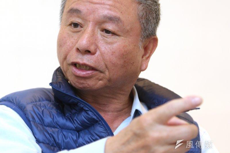 前衛生署長楊志良決定投入總統初選,讓沈悶的黨內初選憑添熱鬧。(吳逸驊攝)