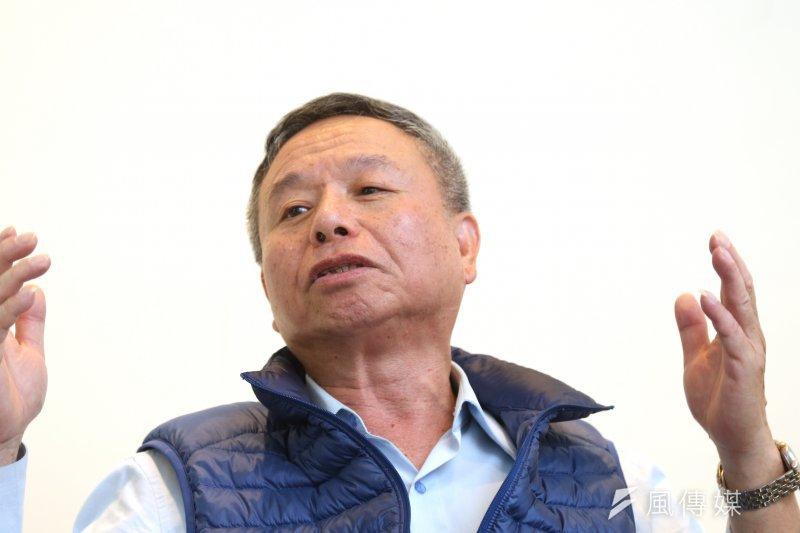 對於有人說楊志良跟洪秀柱參選會害國民黨分裂,楊志良反問「國民黨天王有合作過嗎?沒有結婚怎麼離婚?」(資料照片,吳逸驊攝)