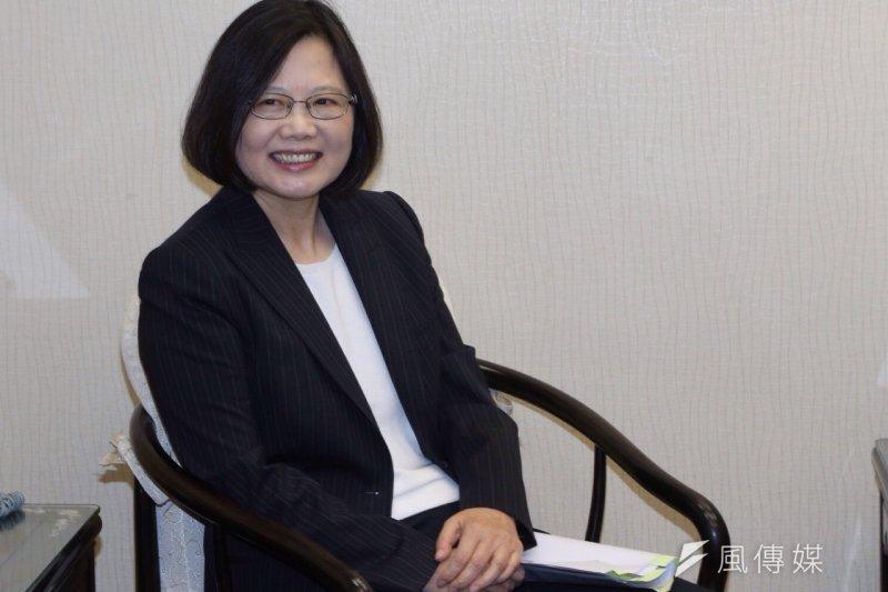 對於各方關注的兩岸政策,蔡英文已先一步投書美國《華爾街日報》,提出對外政策「四管齊下」,強調「一個更加穩定一致的對中關係,需要透過與中國領導階層以及跟台灣人民,都建立開放的溝通管道。」(資料照片,楊子磊攝)