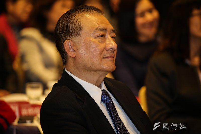 尹啟銘擔任國政基金會執行長,積極運用智庫平台,促成郝龍斌在朱習會之前先與張志軍會晤。(資料照,林韶安攝)