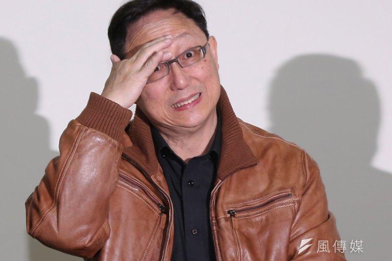 姚立明人氣太高,搶下了李晏榕的風采,遭到民眾問是否參選?(風傳媒攝影)