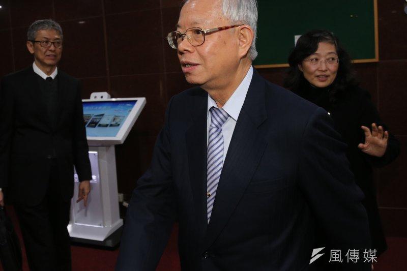 中央銀行總裁彭淮南再被點名選總統,彭淮南重申「央行總裁是個人最後一項公職」。(資料照,吳逸驊攝)