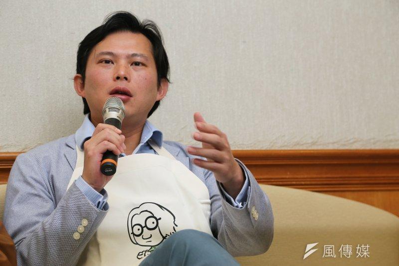 黃國昌在臉書回應,否認將參選立委。(資料照,楊子磊攝)