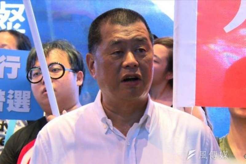 壹傳媒創辦人黎智英去年11月宣布出售台北市內湖區的2棟大樓,其中,位在台北市內湖區新湖二路146巷的「壹電視大樓」,今(24)日確定由上市公司中國電器,以14.5億元價格買下。(資料照,風傳媒)