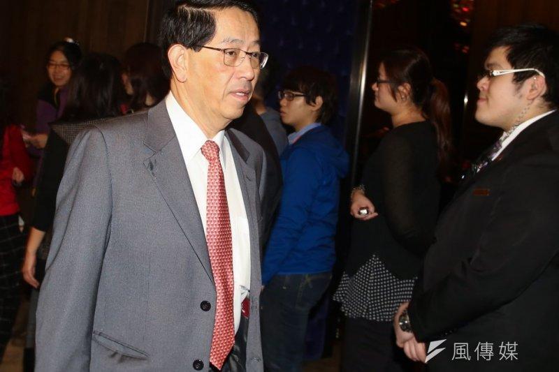 義美董事長高志尚到亞洲大學發表演說。(資料照片,林韶安攝)