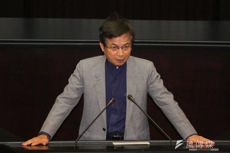 國民黨政策委員會執行長賴士葆(資料照,余志偉攝)