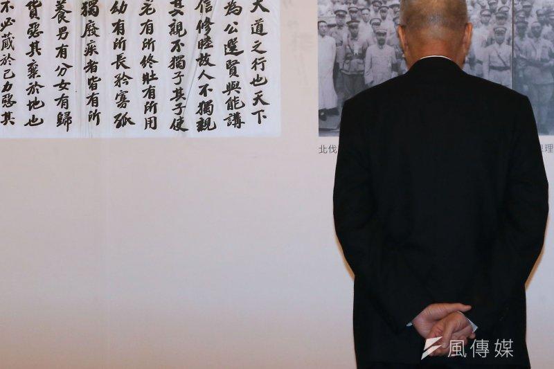 副總統吳敦義首度表態不領表參選總統,決策背後有3個重要因素,讓他選擇放棄。(資料照,楊子磊攝)